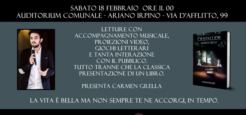 Locandina presentazione 18 febbraio