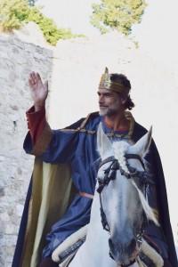lorella_bernardo_foto2_il saluto del re